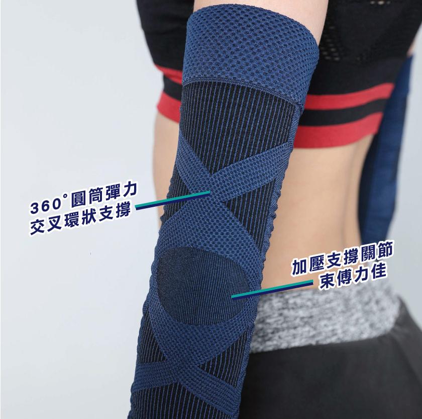 【台灣製Non-no】360°圓筒彈力護肘 - PAGE_03